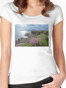 Muckross Head, Co. Donegal Women's Fitted Scoop T-Shirt
