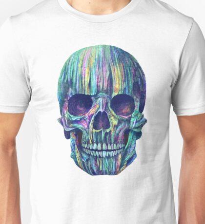 gradient skull Unisex T-Shirt