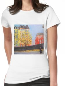 Stockholm Gamla Stan Womens Fitted T-Shirt