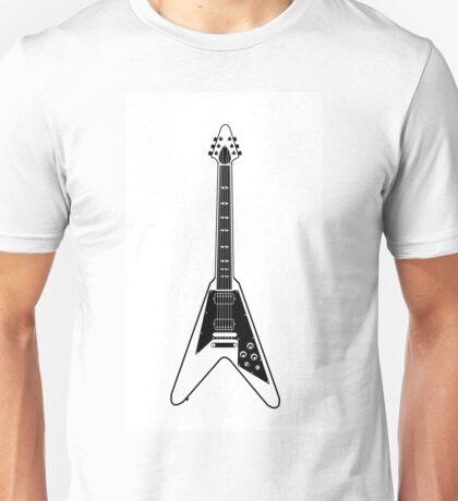 Flying V Guitar Unisex T-Shirt