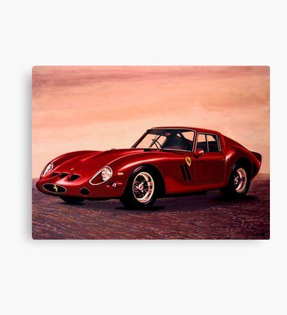Ferrari 250 GTO Painting Canvas Print
