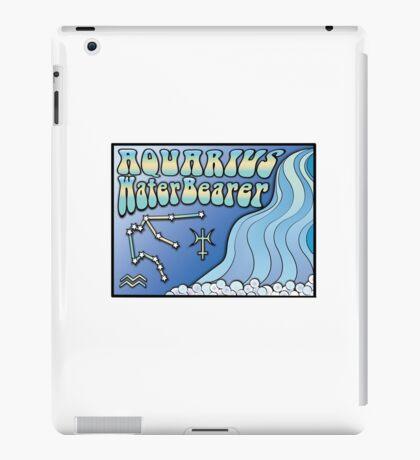 Zodiac Astrology Sign - Aquarius iPad Case/Skin
