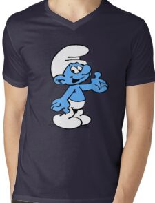 The cutest smurf! Mens V-Neck T-Shirt
