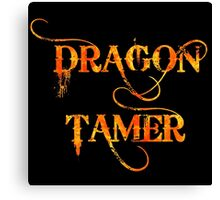 Dragon Tamer Canvas Print