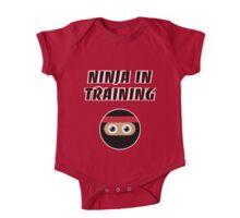 Ninja in Training One Piece - Short Sleeve