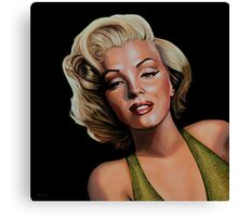Marilyn Monroe 2 Painting Canvas Print