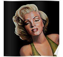 Marilyn Monroe 2 Painting Poster