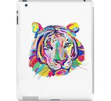 rainbow tiger iPad Case/Skin