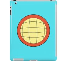 Captain Planet - Planeteer - fire - Wheeler  iPad Case/Skin