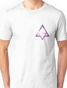 Triangle - Purple Unisex T-Shirt