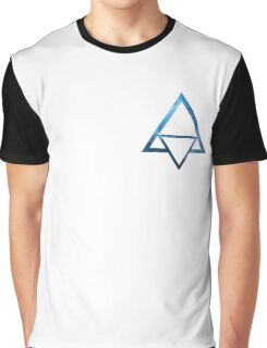 Triangle - Blue Graphic T-Shirt