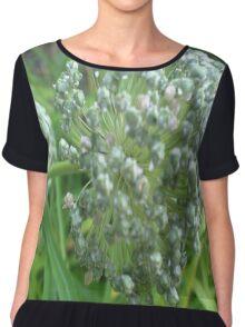 Chive Blossom Chiffon Top