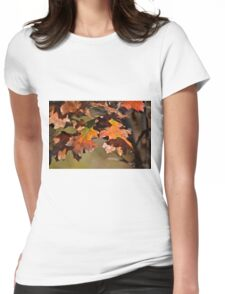 The Autumn Oaks 2 Womens Fitted T-Shirt