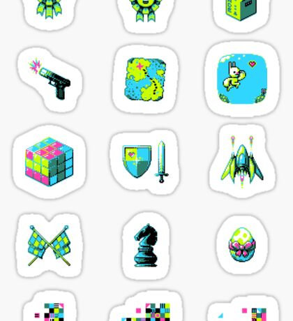 Game Jolt Category Icons - Sticker Sheet Sticker