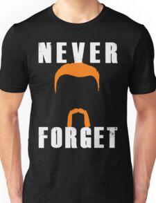 Never Forget Abraham (white font) Unisex T-Shirt