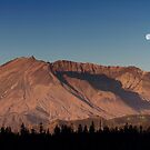 Mount St. Helens At Sunrise. 2 by Alex Preiss