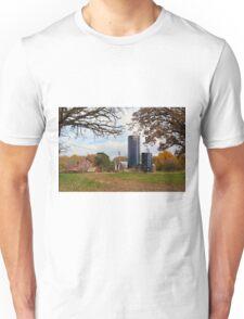 Abandoned Autumn Farm Unisex T-Shirt