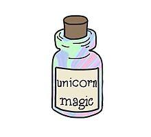 unicorn magic Photographic Print
