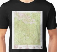 USGS TOPO Map California CA Bonita Meadows 100552 1987 24000 geo Unisex T-Shirt