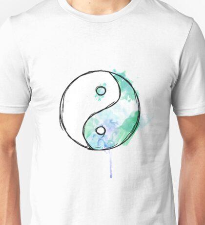 gradient ying/yang Unisex T-Shirt