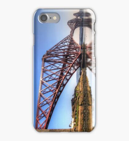 North Queensferry Reflections iPhone Case/Skin