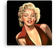 Marilyn Monroe 4 Painting Canvas Print