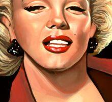 Marilyn Monroe 4 Painting Sticker