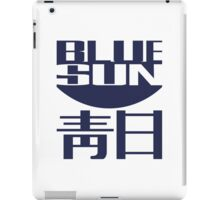 blue sun iPad Case/Skin