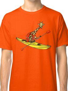 Giraffe Sea Kayaking Classic T-Shirt
