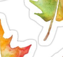 Fall Leaves Set Sticker