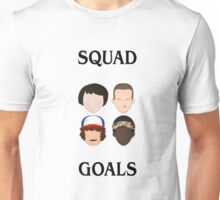 Stranger Things Squad Goals Unisex T-Shirt