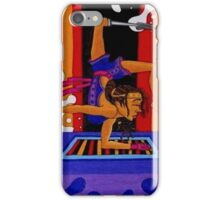 Sustah Girl Yoga iPhone Case/Skin