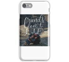 friends don't lie - stranger things iPhone Case/Skin