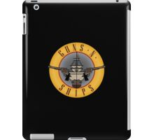 Guns and Ships - Guns and Roses iPad Case/Skin