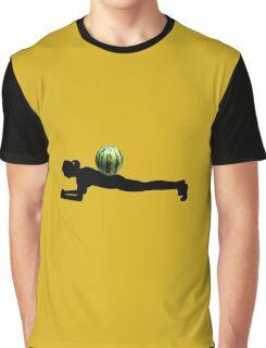 Watermelon plank Graphic T-Shirt