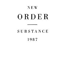 New Order - Substance by vulpixie4