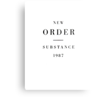 New Order - Substance Metal Print