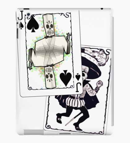 Jack of the Undead Spades iPad Case/Skin