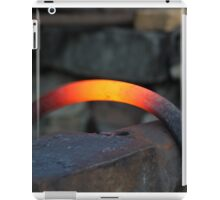 red hot iron iPad Case/Skin