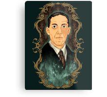 Hp Lovecraft Metal Print