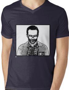 Mr Robot - Edward Alderson Mens V-Neck T-Shirt