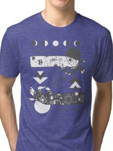 When The Moon Hits Your Eye Tri-blend T-Shirt