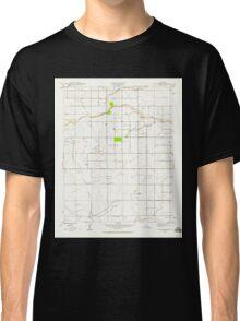 USGS TOPO Map California CA Bonita Ranch 288540 1946 24000 geo Classic T-Shirt