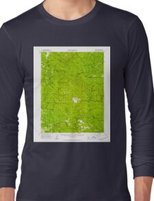 USGS TOPO Map California CA Comptche 297155 1960 62500 geo Long Sleeve T-Shirt