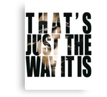 Tupac Changes Canvas Print
