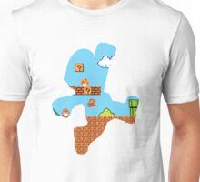 Super Mario Silhouette Unisex T-Shirt