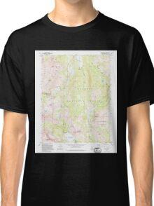 USGS TOPO Map California CA Carson Pass 288998 1992 24000 geo Classic T-Shirt