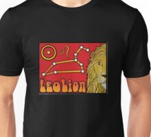 Zodiac Astrology Sign - Leo Unisex T-Shirt