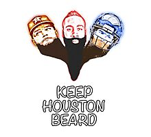 Keep Houston Beard Photographic Print
