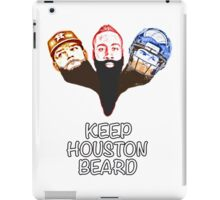 Keep Houston Beard iPad Case/Skin